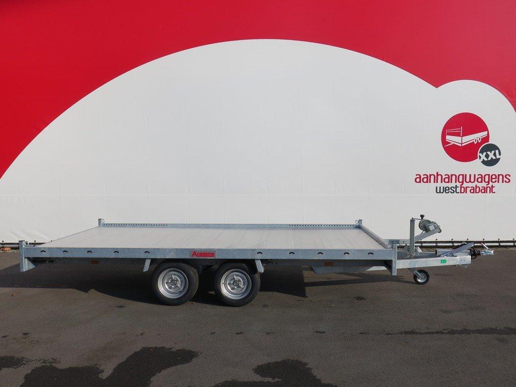 Anssems autotransporter 405x200cm 3000kg Aanhangwagens XXL West Brabant 2.0 hoofd Aanhangwagens XXL West Brabant