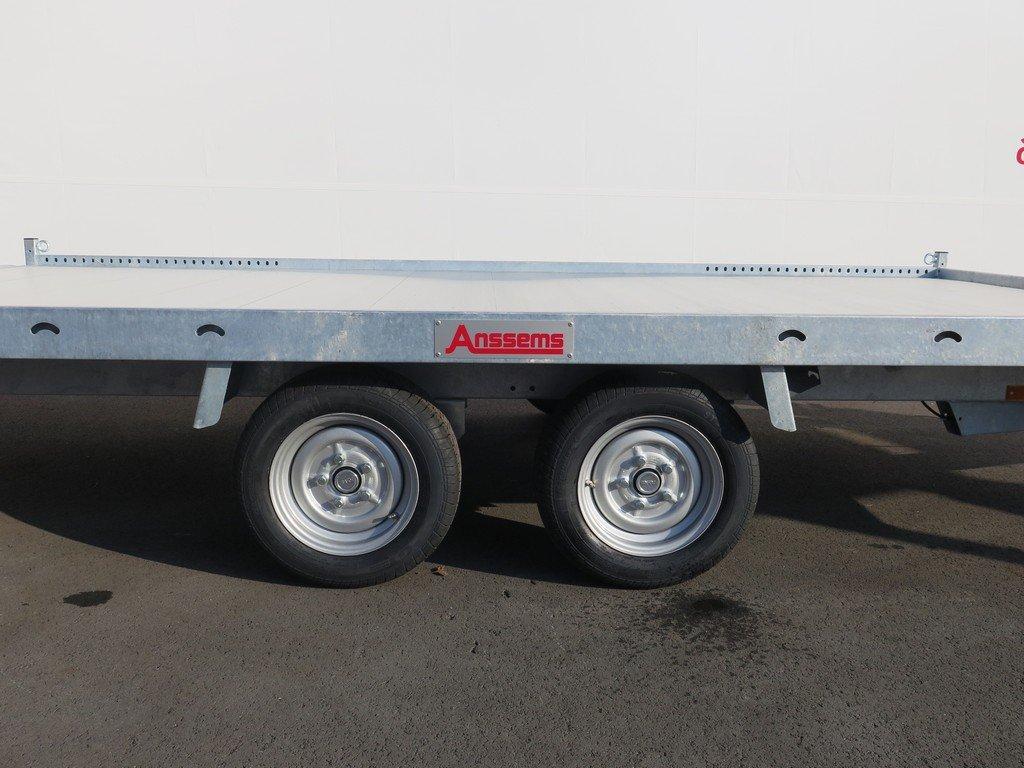 Anssems autotransporter 405x200cm 3000kg Aanhangwagens XXL West Brabant 2.0 zijkant Aanhangwagens XXL West Brabant