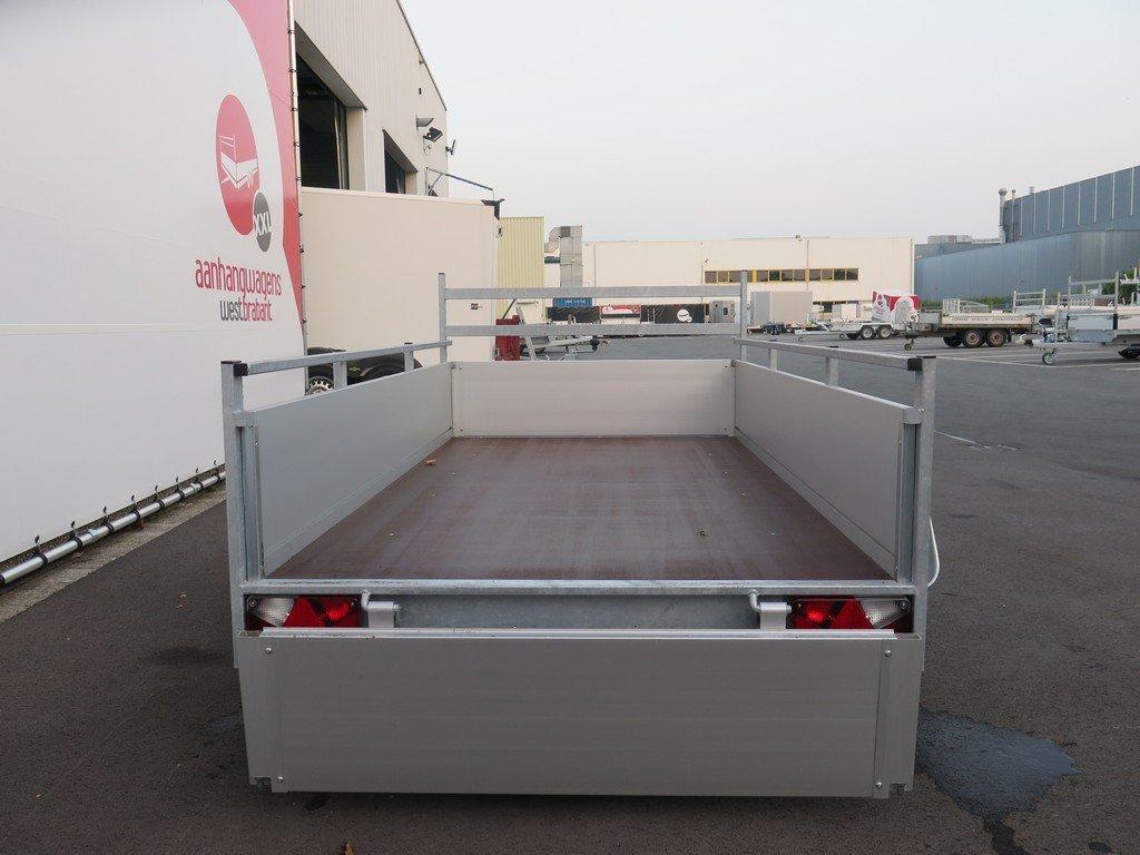 Anssems tandemas aanhanger 251x130cm 2500kg Aanhangwagens XXL West Brabant 2.0 achter open Aanhangwagens XXL West Brabant