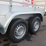 Anssems tandemas aanhanger 251x130cm 2500kg Aanhangwagens XXL West Brabant 2.0 banden Aanhangwagens XXL West Brabant