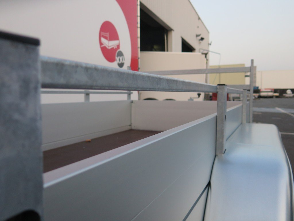Anssems tandemas aanhanger 251x130cm 2500kg Aanhangwagens XXL West Brabant 2.0 bindreling Aanhangwagens XXL West Brabant