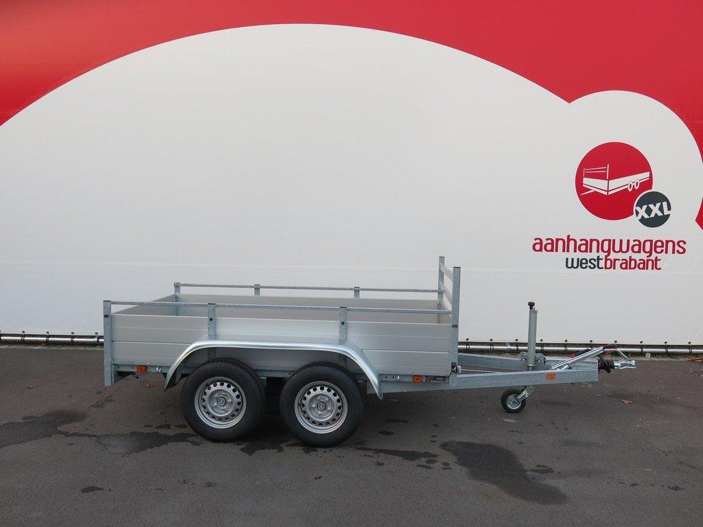 Anssems tandemas aanhanger 251x130cm 2500kg Aanhangwagens XXL West Brabant 2.0 hoofd Aanhangwagens XXL West Brabant