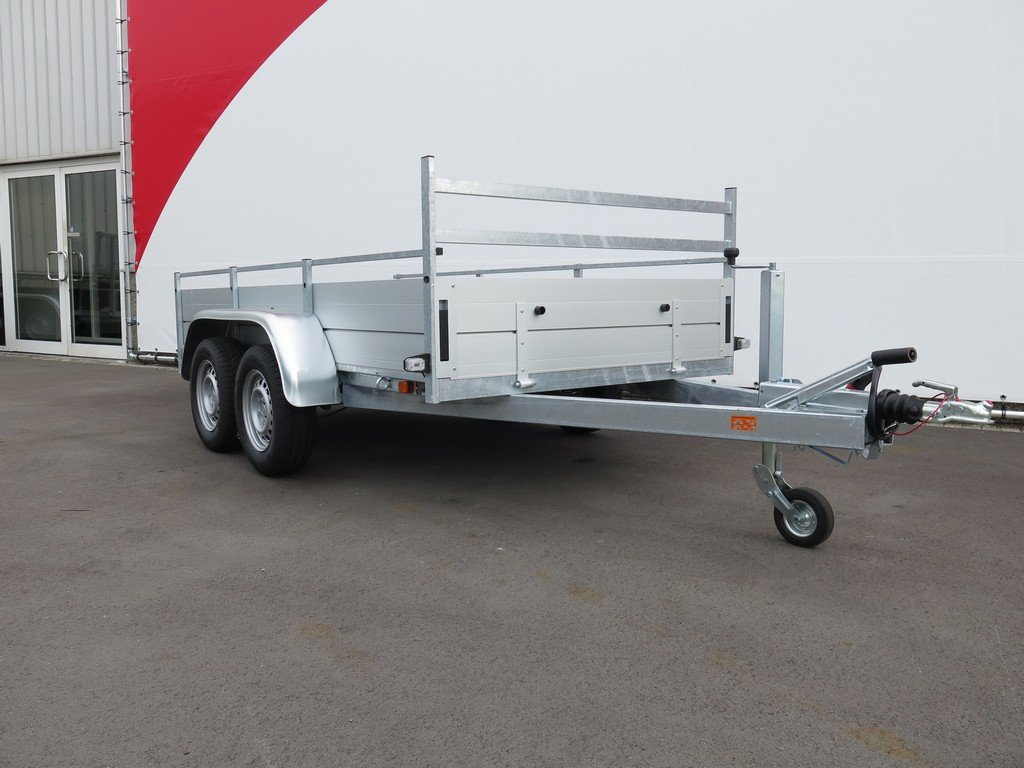 Anssems tandemas aanhanger 301x150cm 2500kg alu Aanhangwagens XXL West Brabant 2.0 zijkant Aanhangwagens XXL West Brabant