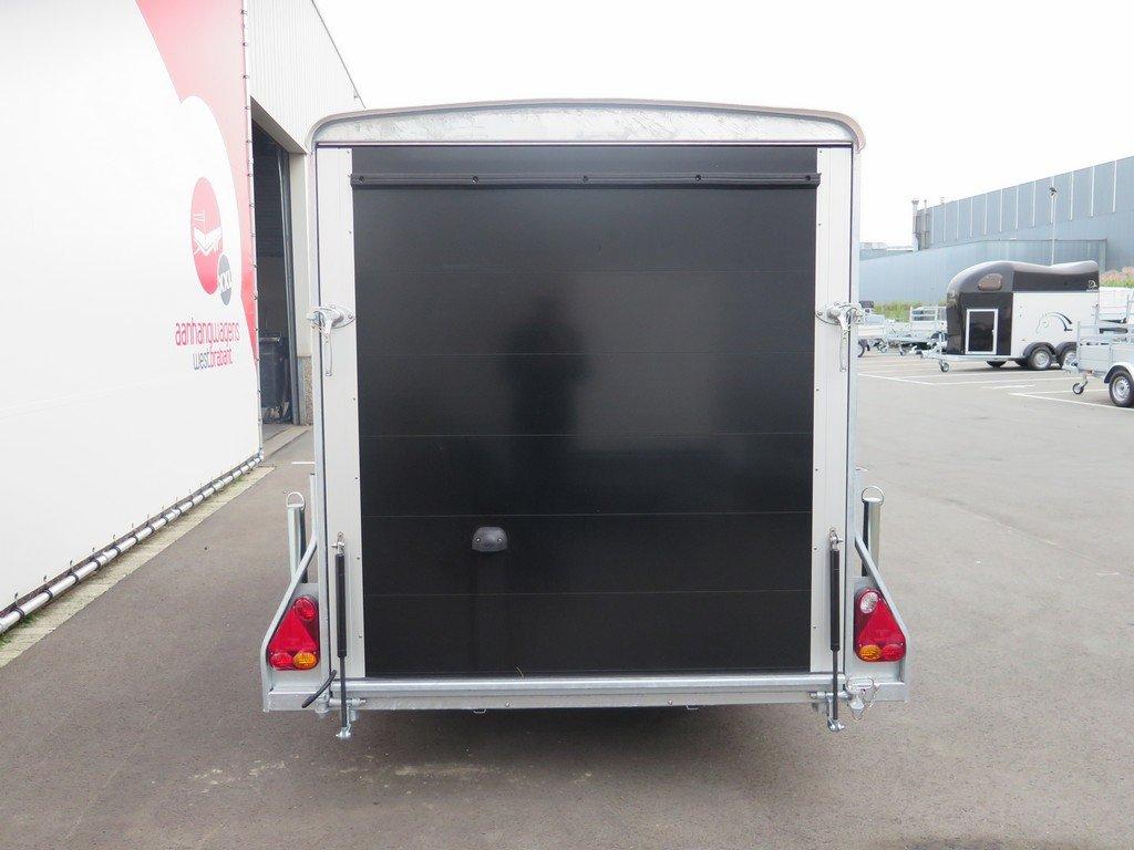 Easyline gesloten aanhanger 300x151x170cm 1300kg zwart Aanhangwagens XXL West Brabant 4.0 achter dicht Aanhangwagens XXL West Brabant