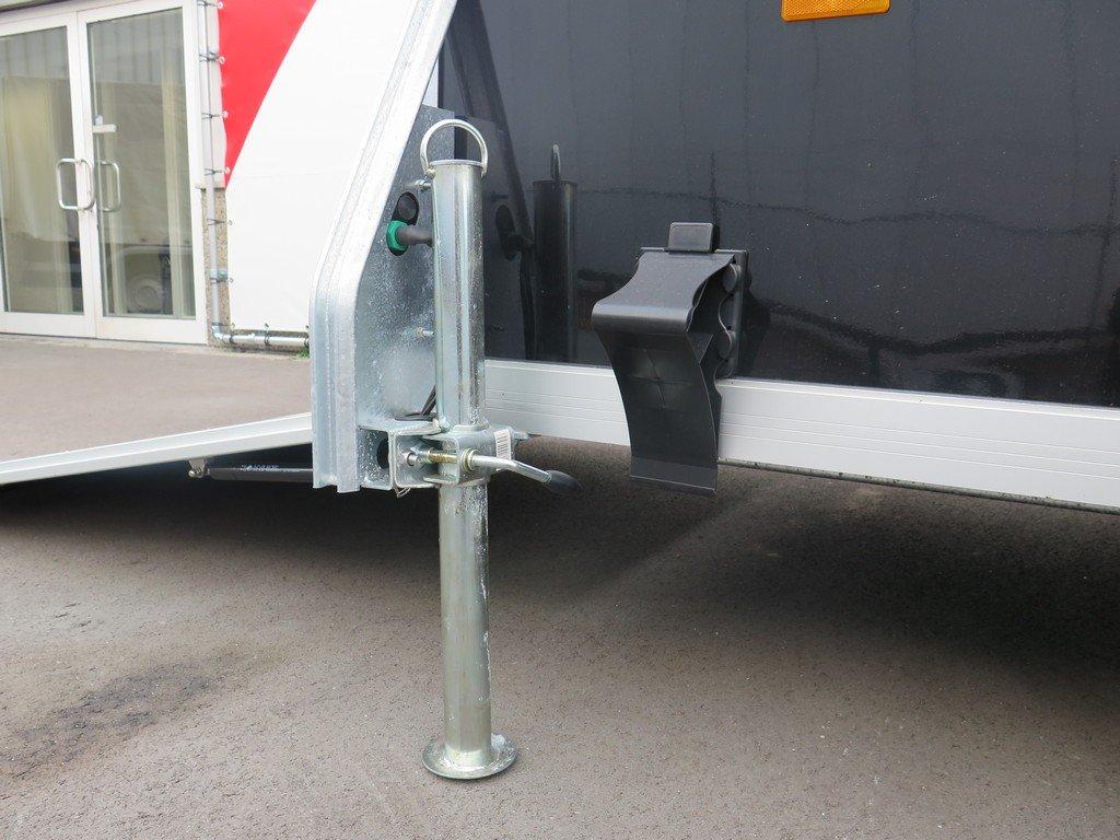 Easyline gesloten aanhanger 300x151x170cm 1300kg zwart Aanhangwagens XXL West Brabant 4.0 steunpoten Aanhangwagens XXL West Brabant