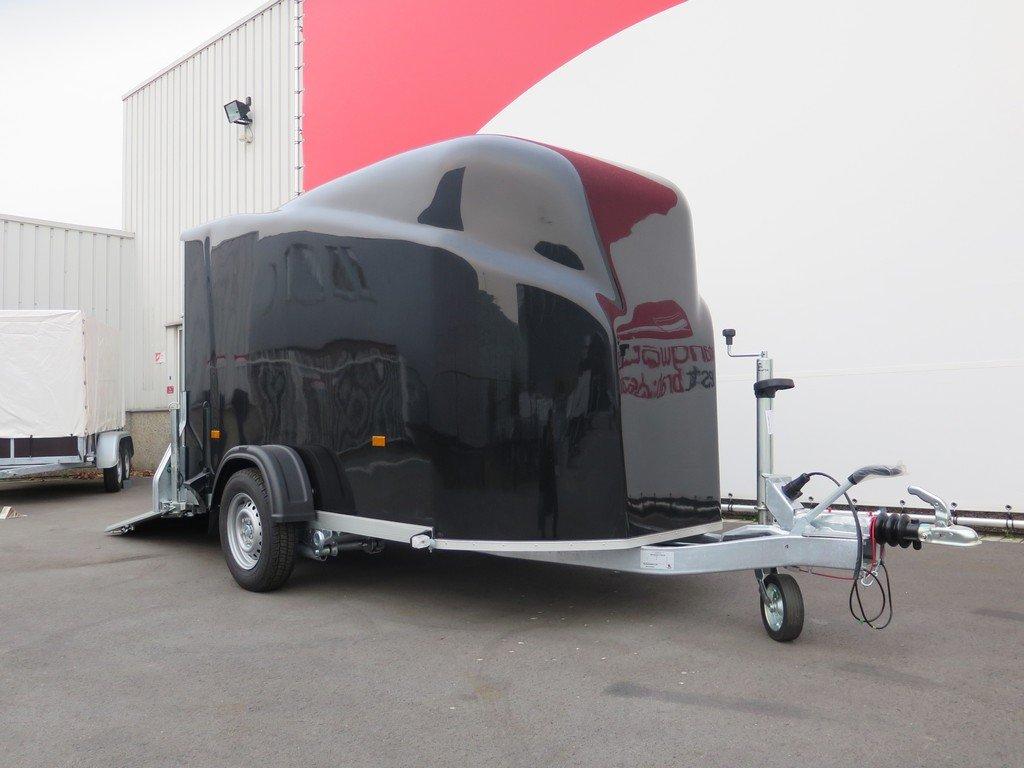 Easyline gesloten aanhanger 300x151x170cm 1300kg zwart Aanhangwagens XXL West Brabant 4.0 zijkant Aanhangwagens XXL West Brabant
