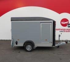 Easyline gesloten aanhanger 302x150x197cm 1300kg Aanhangwagens XXL West Brabant 3.0 hoofd Aanhangwagens XXL West Brabant