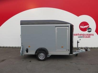Easyline gesloten aanhanger 302x150x197cm 1300kg Aanhangwagens XXL West Brabant 3.0 hoofd