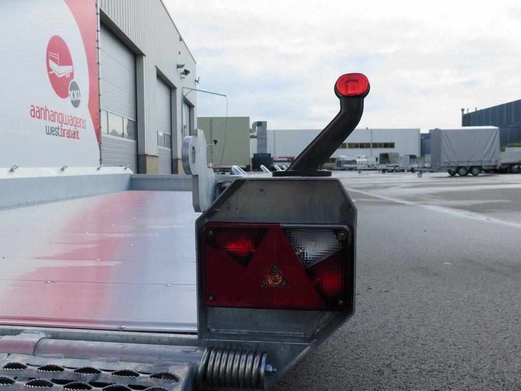 Hulco machinetransporter 394x180cm 3500kg Aanhangwagens XXL West Brabant 2.0 breedtelichten