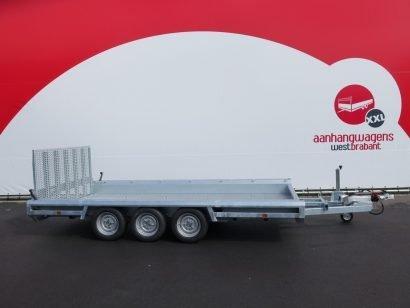 Hulco machinetransporter 394x180cm 3500kg Aanhangwagens XXL West Brabant 2.0 hoofd
