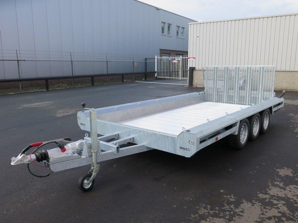 Hulco machinetransporter 394x180cm 3500kg Aanhangwagens XXL West Brabant 2.0 overzicht