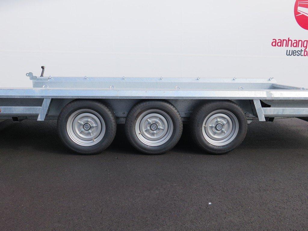 Hulco machinetransporter 394x180cm 3500kg Aanhangwagens XXL West Brabant 2.0 tridemas