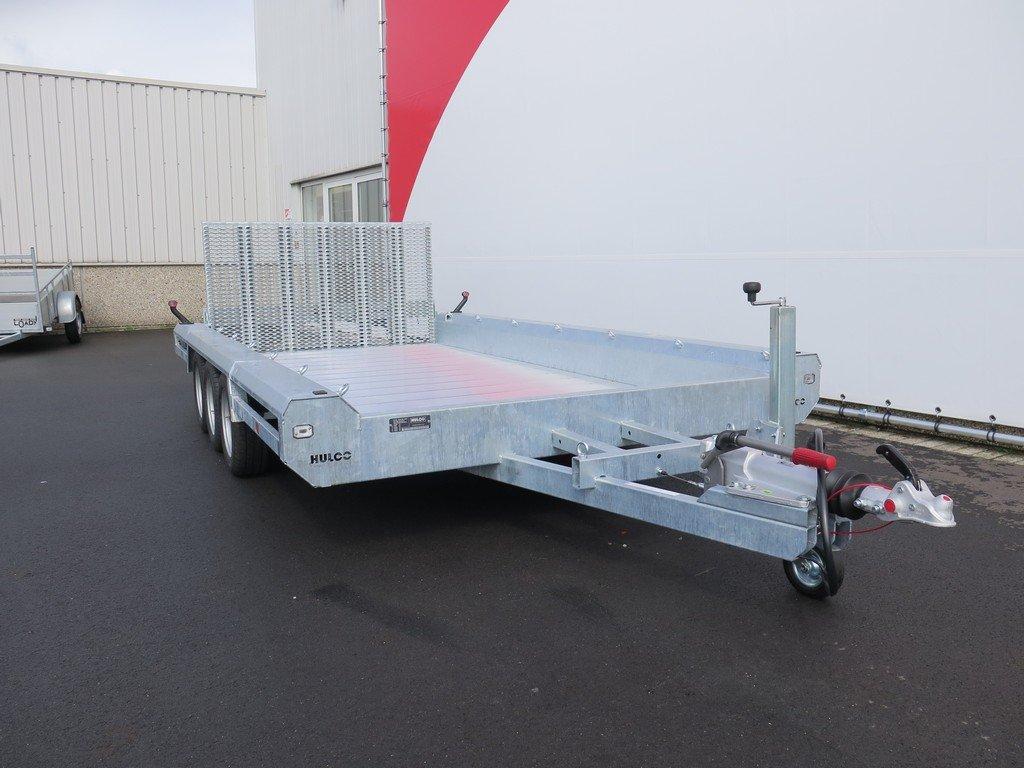 Hulco machinetransporter 394x180cm 3500kg Aanhangwagens XXL West Brabant 2.0 voorkant