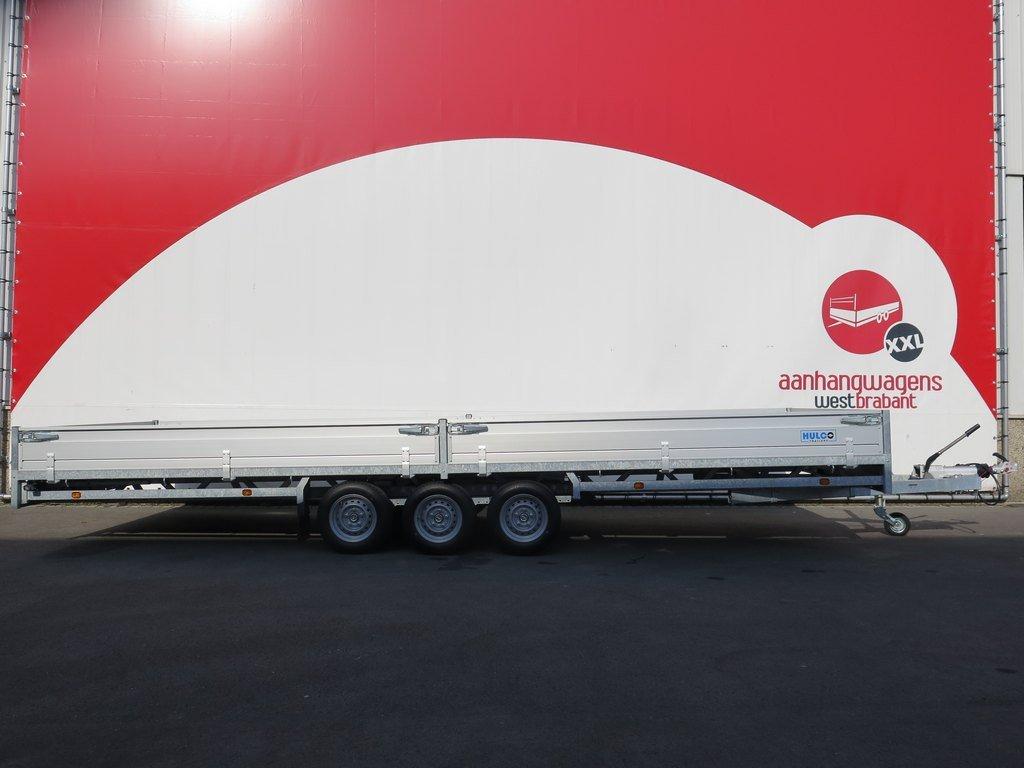 Hulco plateauwagen 611x203cm 3500kg tridemas
