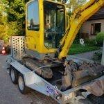 Ifor Williams GH1054 machinetransporter 304x162cm 3500kg