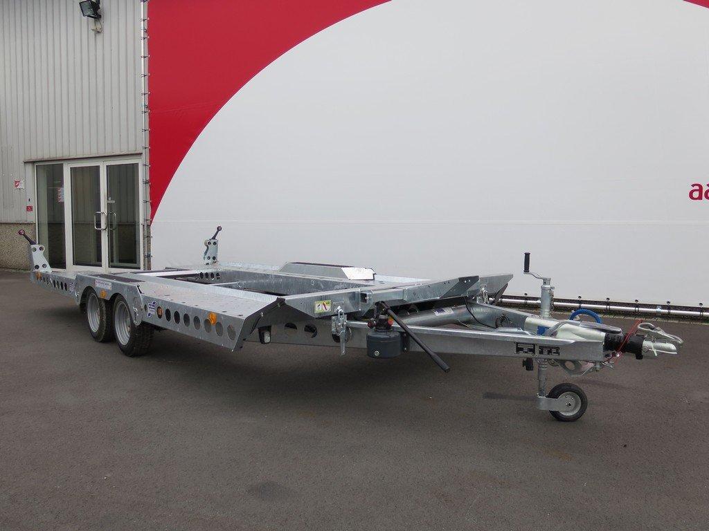 Ifor Williams autotransporter 510x230cm 3500kg Aanhangwagens XXL West Brabant 2.0 voorkant Aanhangwagens XXL West Brabant