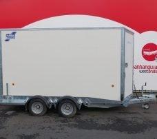 Ifor Williams bloemenwagen 364x173x214cm 3500kg Aanhangwagens XXL West Brabant 2.0 hoofd