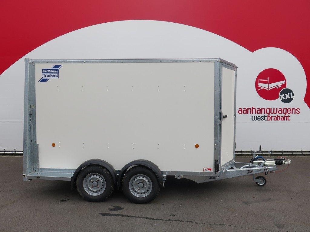 Ifor Williams gesloten aanhanger 303x147x183cm 2700kg Aanhangwagens XXL West Brabant 2.0 hoofd Aanhangwagens XXL West Brabant