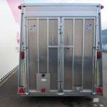 Ifor Williams gesloten aanhanger 364x173x214cm 3500kg Aanhangwagens XXL West Brabant 2.0 achter dicht Aanhangwagens XXL West Brabant