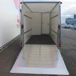 Ifor Williams gesloten aanhanger 364x173x214cm 3500kg Aanhangwagens XXL West Brabant 2.0 achter open Aanhangwagens XXL West Brabant