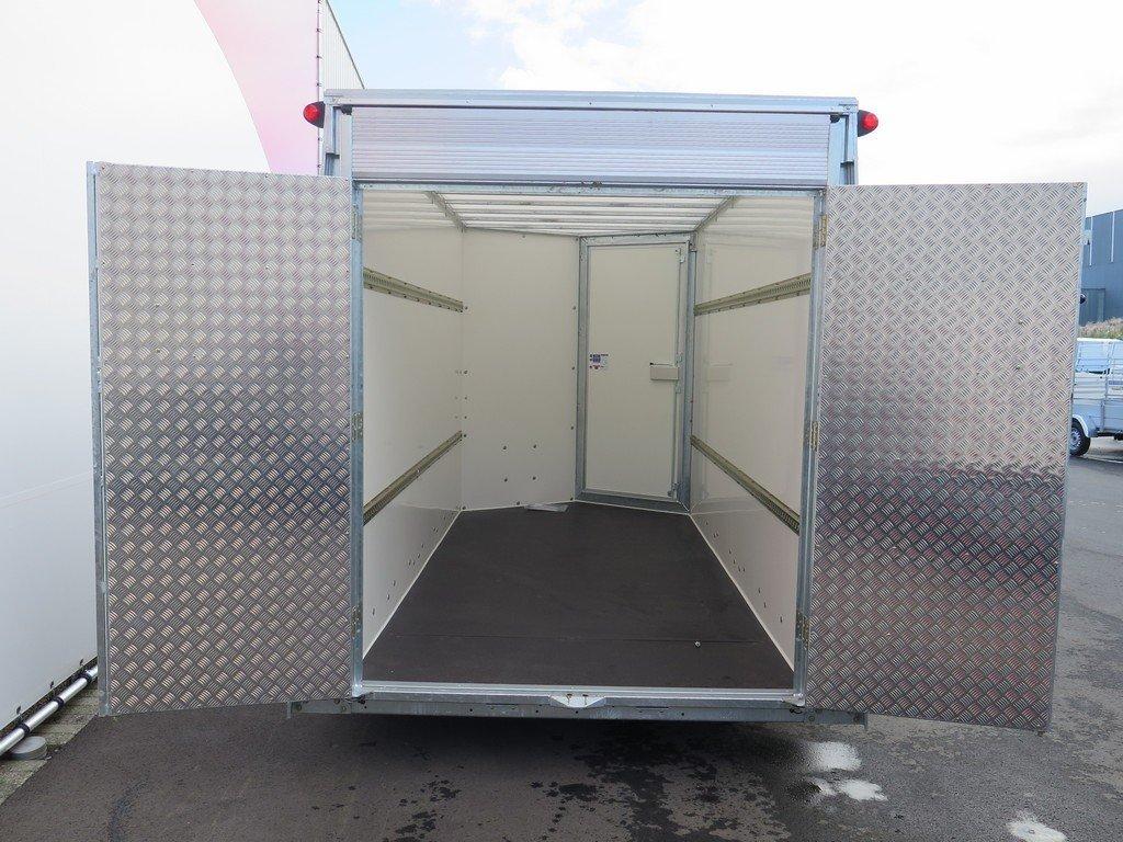 Ifor Williams gesloten aanhanger 364x173x214cm 3500kg Aanhangwagens XXL West Brabant 2.0 klep-deur Aanhangwagens XXL West Brabant