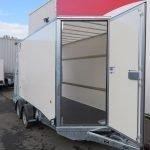 Ifor Williams gesloten aanhanger 364x173x214cm 3500kg Aanhangwagens XXL West Brabant 2.0 zijdeur Aanhangwagens XXL West Brabant