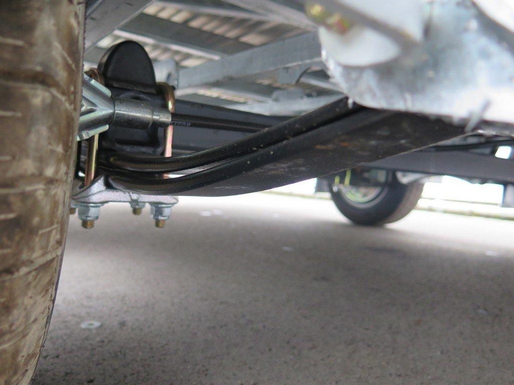 Ifor Williams kipper 362x195cm 3500kg Aanhangwagens XXL West Brabant 2.0 onderstel