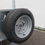 Ifor Williams kipper 362x195cm 3500kg Aanhangwagens XXL West Brabant 2.0 reservewiel