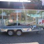 Ifor Williams machinetransporter 300x155cm 3500kg Aanhangwagens XXL West Brabant 2.0 hoofd Aanhangwagens XXL West Brabant