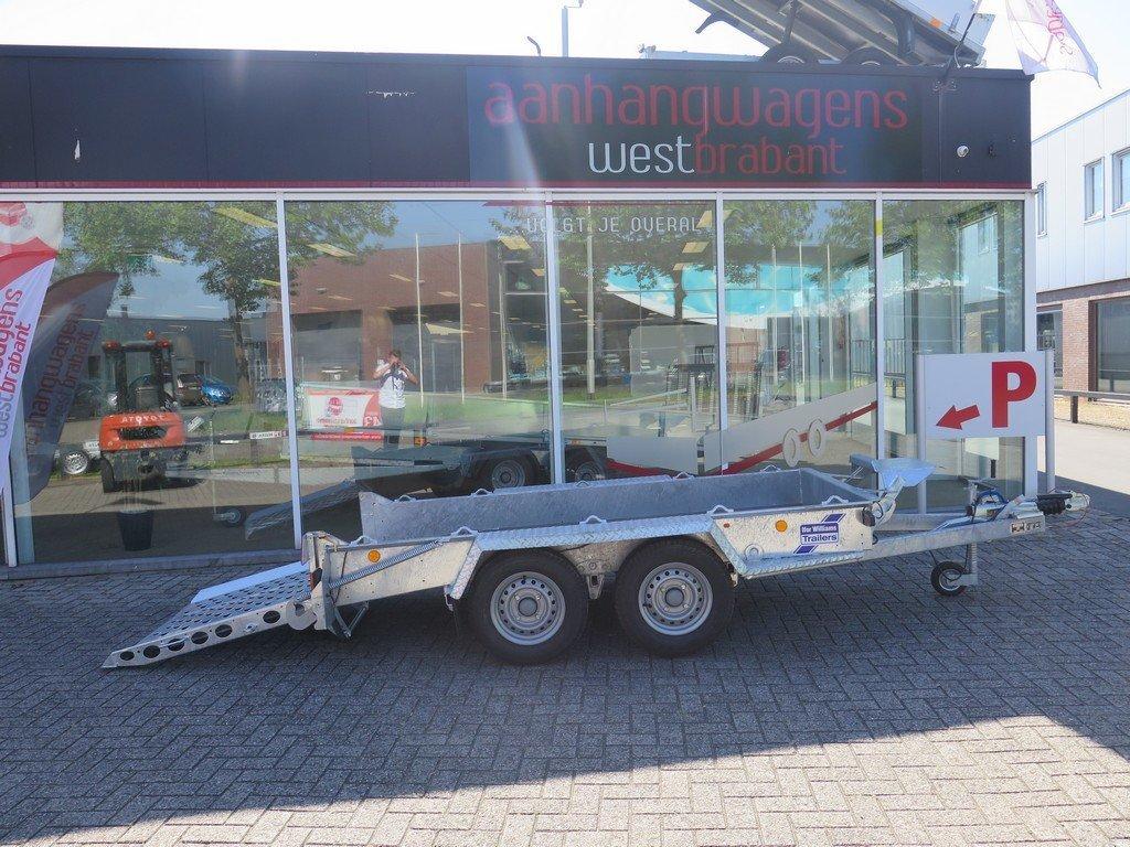 Ifor Williams machinetransporter 300x155cm 3500kg Aanhangwagens XXL West Brabant 2.0 zijkant open Aanhangwagens XXL West Brabant