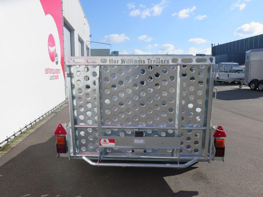Ifor Williams GH1054 machinetransporter 304x162cm 3500kg Ifor Williams machinetransporter 304x162cm 3500kg Aanhangwagens XXL West Brabant 3.0 achter dicht