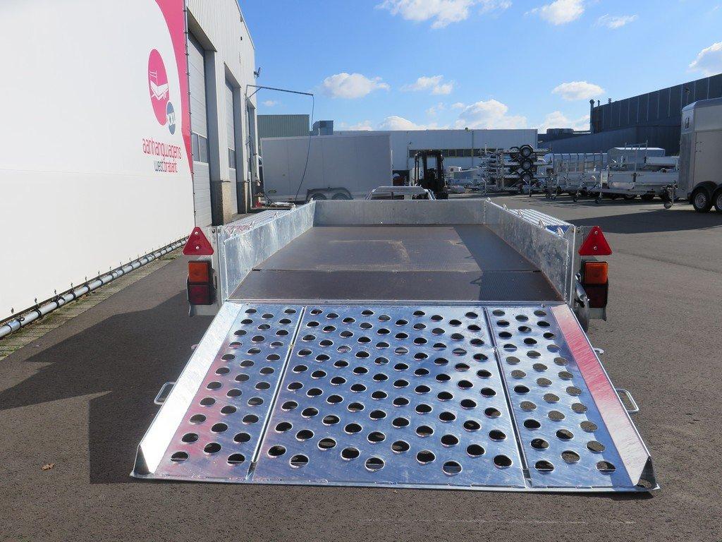 Ifor Williams GH1054 machinetransporter 304x162cm 3500kg Ifor Williams machinetransporter 304x162cm 3500kg Aanhangwagens XXL West Brabant 3.0 achter open