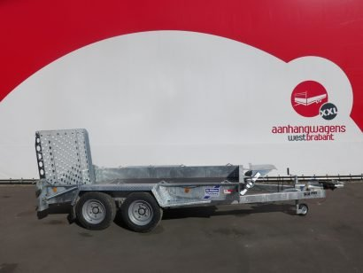 Ifor Williams machinetransporter 304x162cm 3500kg Aanhangwagens XXL West Brabant 3.0 hoofd Aanhangwagens XXL West Brabant