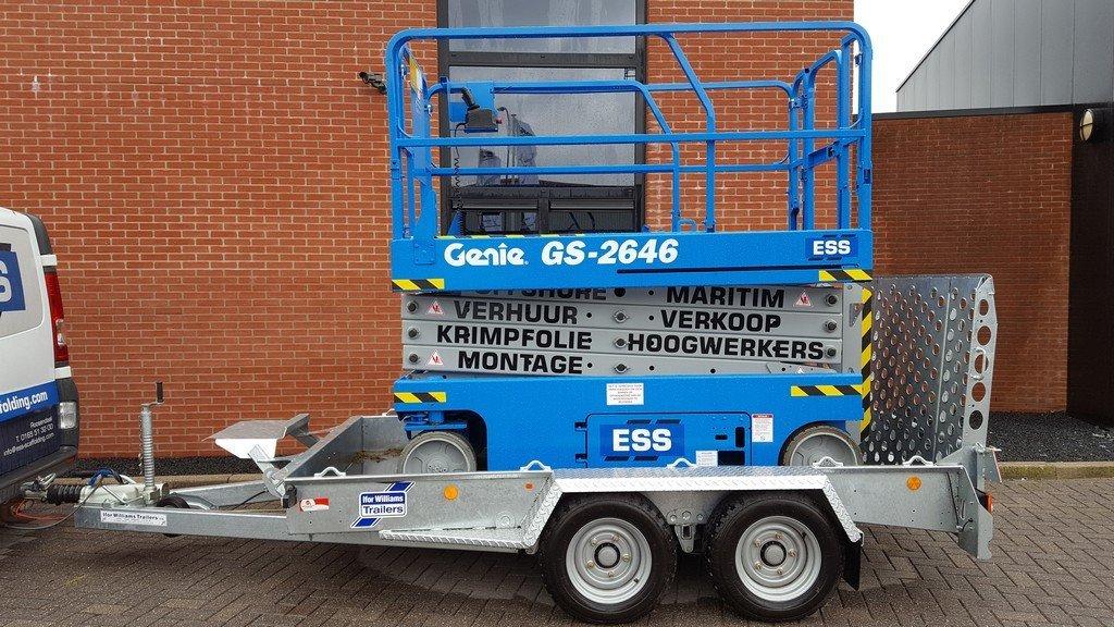 Ifor Williams GH1054 machinetransporter 304x162cm 3500kg Ifor Williams machinetransporter 304x162cm 3500kg Aanhangwagens XXL West Brabant 3.0 in de praktijk