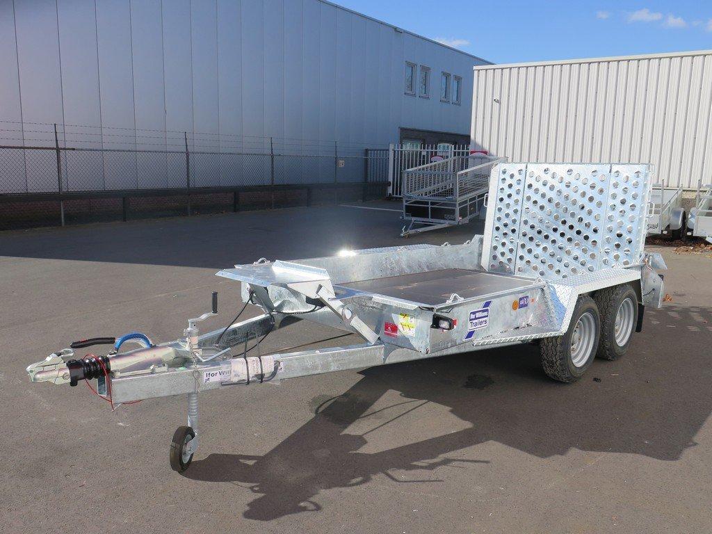 Ifor Williams GH1054 machinetransporter 304x162cm 3500kg Ifor Williams machinetransporter 304x162cm 3500kg Aanhangwagens XXL West Brabant 3.0 overzicht