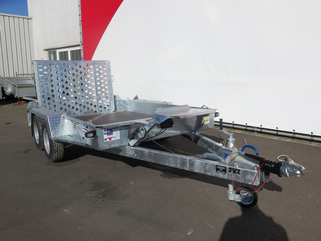 Ifor Williams GH1054 machinetransporter 304x162cm 3500kg Ifor Williams machinetransporter 304x162cm 3500kg Aanhangwagens XXL West Brabant 3.0 voorkant