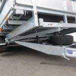 Ifor Williams machinetransporter 477x198cm 3500kg kantelbaar Aanhangwagens XXL West Brabant 2.0 onderkant Aanhangwagens XXL West Brabant