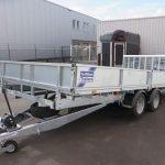 Ifor Williams machinetransporter 477x198cm 3500kg kantelbaar Aanhangwagens XXL West Brabant 2.0 overzicht Aanhangwagens XXL West Brabant