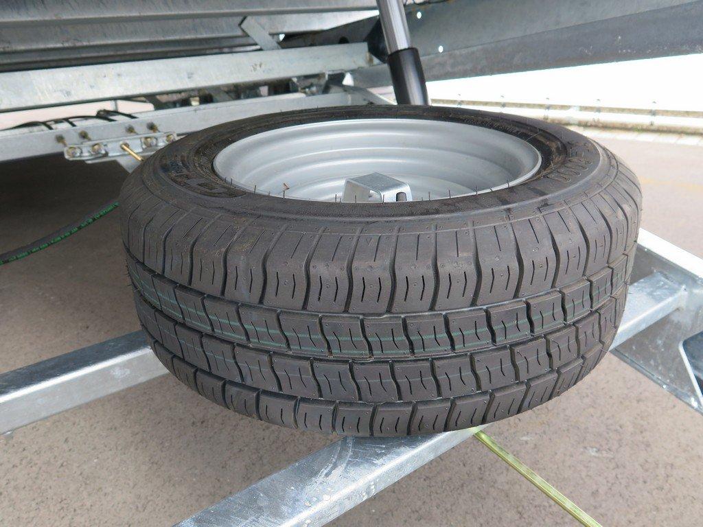 Ifor Williams machinetransporter 477x198cm 3500kg kantelbaar Aanhangwagens XXL West Brabant 2.0 reservewiel Aanhangwagens XXL West Brabant