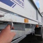 Ifor Williams machinetransporter 477x198cm 3500kg kantelbaar Aanhangwagens XXL West Brabant 2.0 touwhaken Aanhangwagens XXL West Brabant
