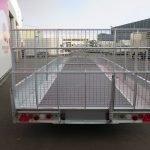 Ifor Williams machinetransporter 503x204cm 3500kg kantelbaar Aanhangwagens XXL West Brabant 2.0 achter dicht Aanhangwagens XXL West Brabant