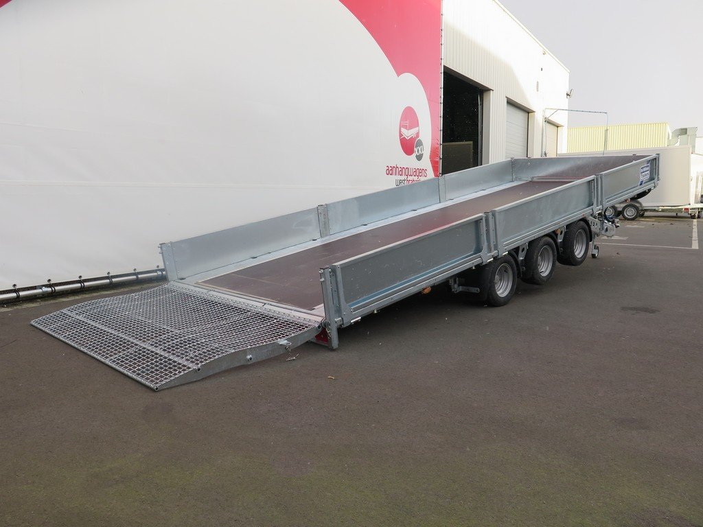 Ifor Williams machinetransporter 503x204cm 3500kg kantelbaar Aanhangwagens XXL West Brabant 2.0 gekanteld Aanhangwagens XXL West Brabant