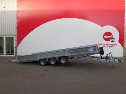 Ifor Williams machinetransporter 503x204cm 3500kg kantelbaar Aanhangwagens XXL West Brabant 2.0 hoofd