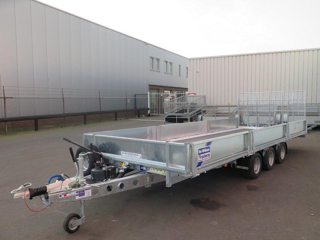 Ifor Williams machinetransporter 503x204cm 3500kg kantelbaar Aanhangwagens XXL West Brabant 2.0 overzicht Aanhangwagens XXL West Brabant