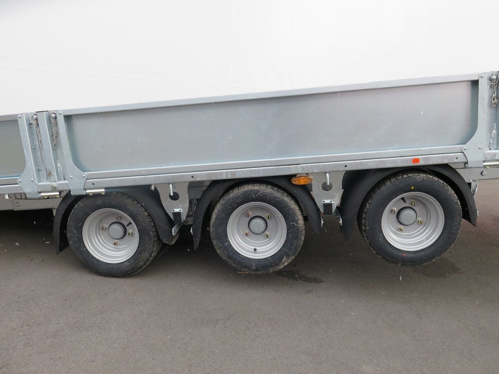 Ifor Williams machinetransporter 503x204cm 3500kg kantelbaar Aanhangwagens XXL West Brabant 2.0 tridemas Aanhangwagens XXL West Brabant
