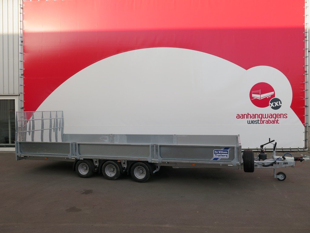 Ifor Williams machinetransporter 550x204cm 3500kg kantelbaar Aanhangwagens XXL West Brabant 3.0 zijkant Aanhangwagens XXL West Brabant