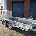 Ifor Williams transporter 366x178cm 3500kg machinetransporter Aanhangwagens XXL West Brabant hoofd