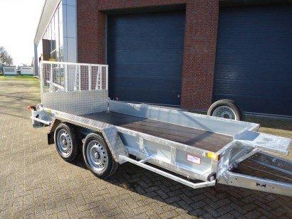 Ifor Williams transporter 366x178cm 3500kg machinetransporter Aanhangwagens XXL West Brabant hoofd Aanhangwagens XXL West Brabant