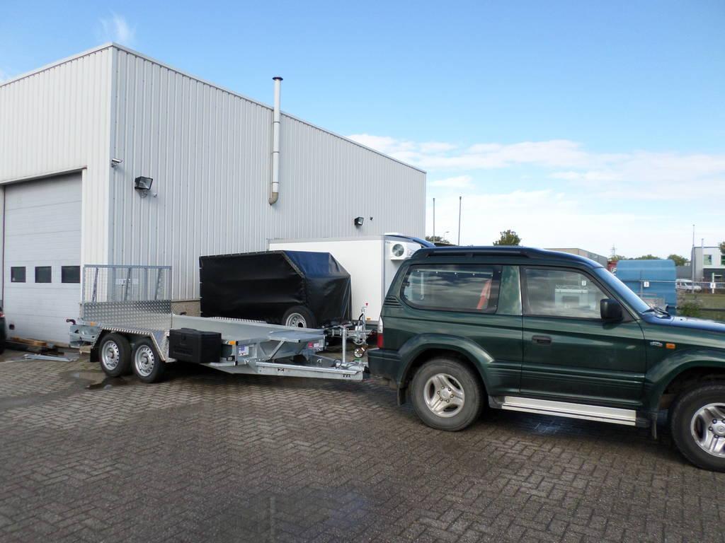 Ifor Williams transporter 366x178cm 3500kg machinetransporter Aanhangwagens XXL West Brabant in de praktijk