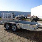 Ifor Williams transporter 366x178cm 3500kg machinetransporter Aanhangwagens XXL West Brabant overzicht